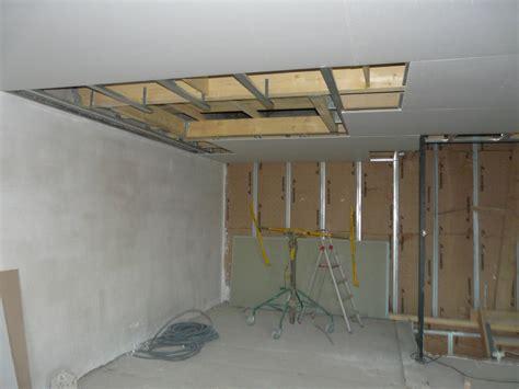 plafond placoplatre plafond platre