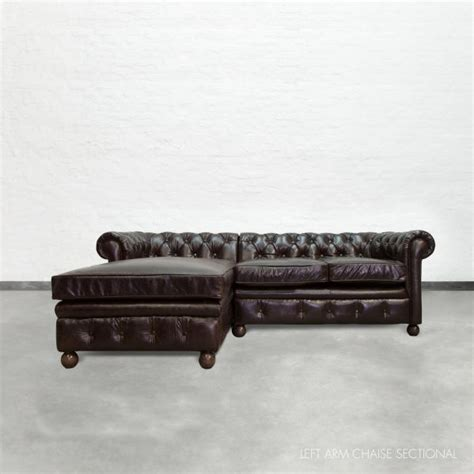 chaise chesterfield chaise sectional chesterfield