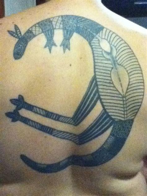 aboriginal kangaroo tattoos