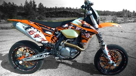 ktm exc 450 supermoto test ride tuning