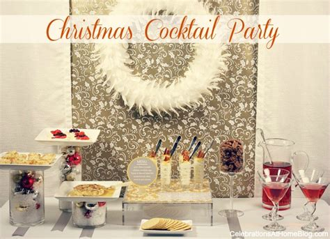 christmas cocktail party ideas celebrations  home
