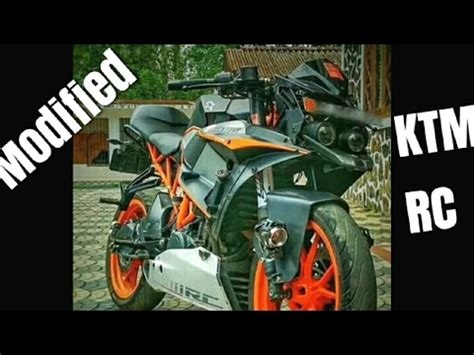Ktm Rc 200 Modification by Modified Ktm Rc 200 390 In India Modification