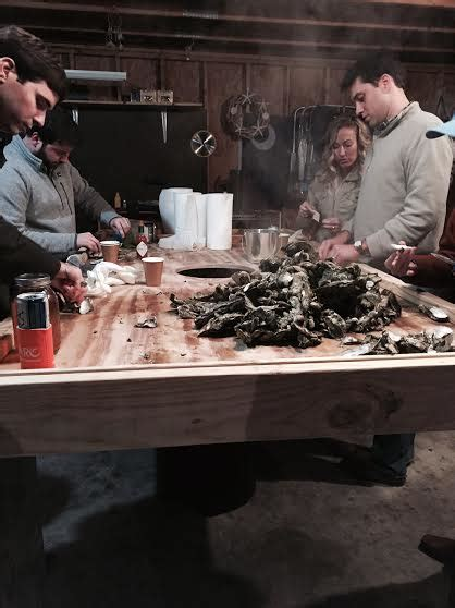 coastal kelder   build  perfect oyster shucking