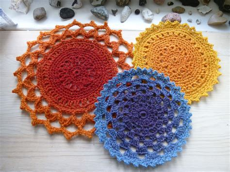 free crochet kitchen patterns for dishcloths and more