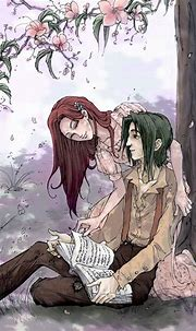 Severus and Lily | Snape and lily, Harry potter anime ...