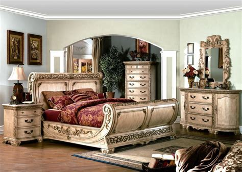 king sleigh bed  sale   left