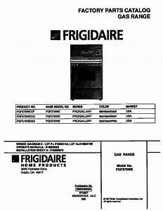 Frigidaire Fgf379wecf Gas Range Timer