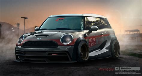 mini cooper beautiful wallpapers pictures