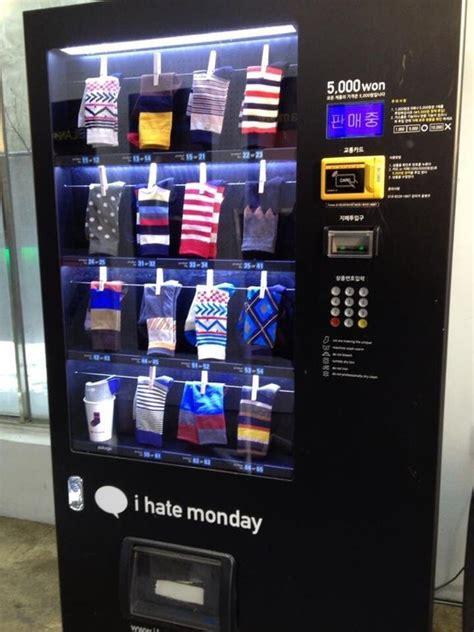korea  sock vending machines mildlyinteresting