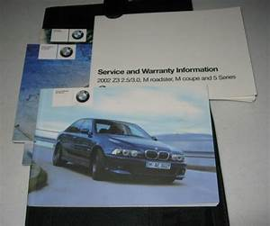 2002 Bmw M5 Owners Manual Set Guide 02 W  Case