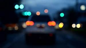Blurry Moving Traffic In City Stock Footage Video 4014874 ...
