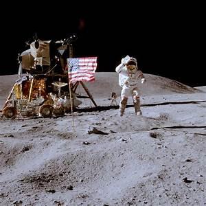 Apollo Moon Flags Still Standing | Solar System ...