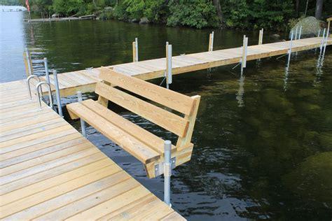 photo gallery stationary wood docks boat docks