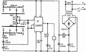 Electrical Apparatus Start-stop Circulatory Timer Circuit Diagram - Time Control