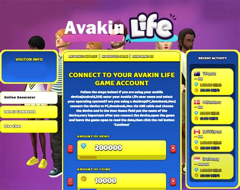 avakin hack coins unlimited generator cheat gems mod cheats apk codes characteristics screenshot