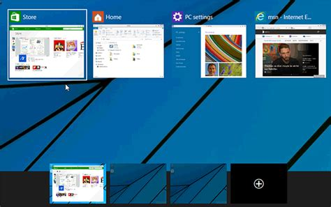 e bureau virtuel bureaux virtuels windows 10 déplacer les applications d