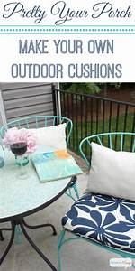 Porch, Makeover, Progress, Diy, Outdoor, Chair, Cushions