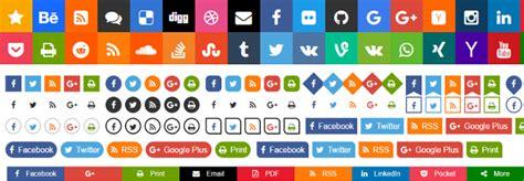 social buttons sharebar generator aakash web