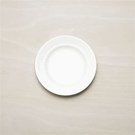 White Pearl Bread and Butter Plate + Reviews   Crate and