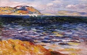 Bordighera Painting by Pierre Auguste Renoir