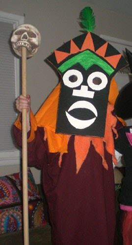 super punch scooby doo witch doctor costume