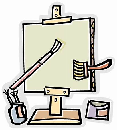 Transparent Supplies Clipart Craft Arts Crayons Packet
