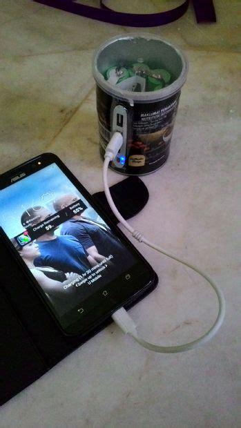 diy power bank   laptop battery cargar celular