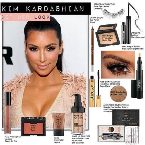 Kim Kardashian Makeup Products She Wear Brands And Names