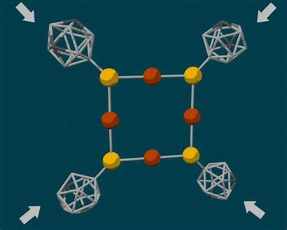 Chemical Diamond Anvils Pressure Trigger Tiny Reactions