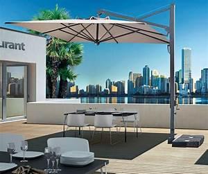 Parasol De Terrasse : parasol d port pour restaurant et terrasse galileo dark de scolaro ~ Teatrodelosmanantiales.com Idées de Décoration