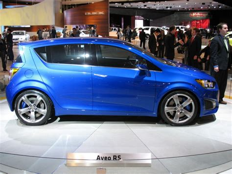 2018 Detroit Auto Show 2018 Chevrolet Aveo Rs Concept