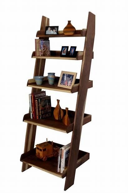 Ladder Shelf Woodworking Plans Projects Shelves Wood