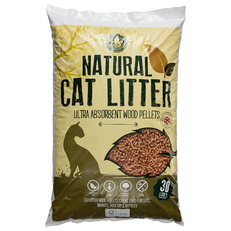 bm cat wood litter   bm