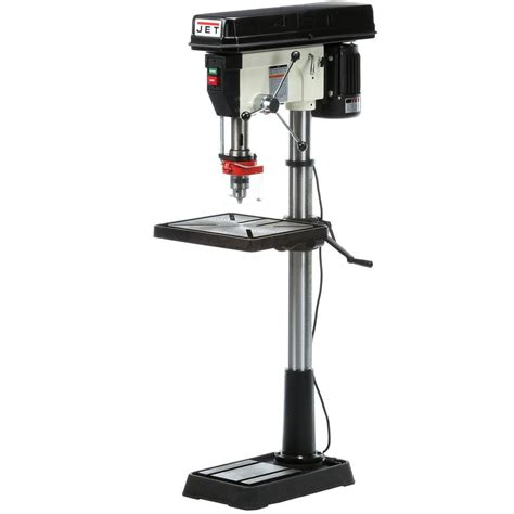 Jet Floor Standing Drill Press by Jet 1 5 Hp 20 In Floor Standing Drill Press With