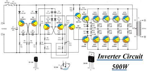 Inverter Circuit Vdc Electronic