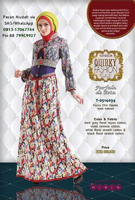 butik baju muslim terbaru  katalog tuneeca quirky