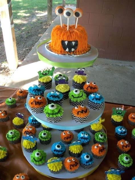 monsters   birthday theme  monster parties