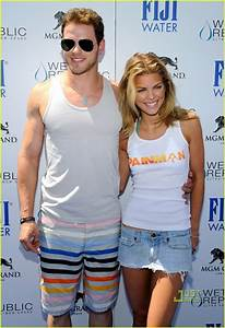 Full Sized Photo of annalynne mccord birthday pool party ...