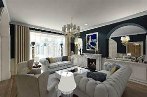 Living Room Design Modern Classic Interior Pro DMA Homes