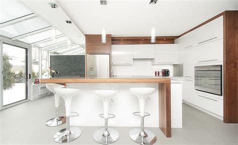 cuisines blanches design cuisine blanche idée et photo