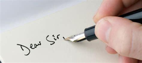 writing  formal letter esol nexus
