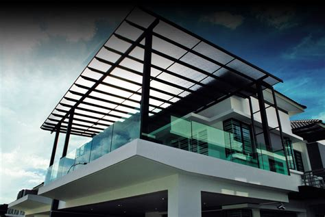 Balcony Roof Designs In Harmony With Your Home Model