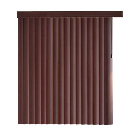 home decorations collections blinds home decorators collection espresso bamboo pvc vertical