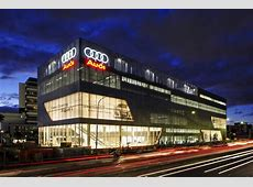The most beautiful car dealerships – Audi Lighthouse