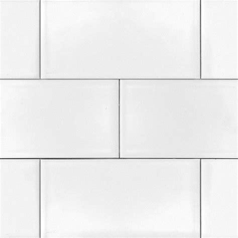 ice white  glossy subway tile  box   square