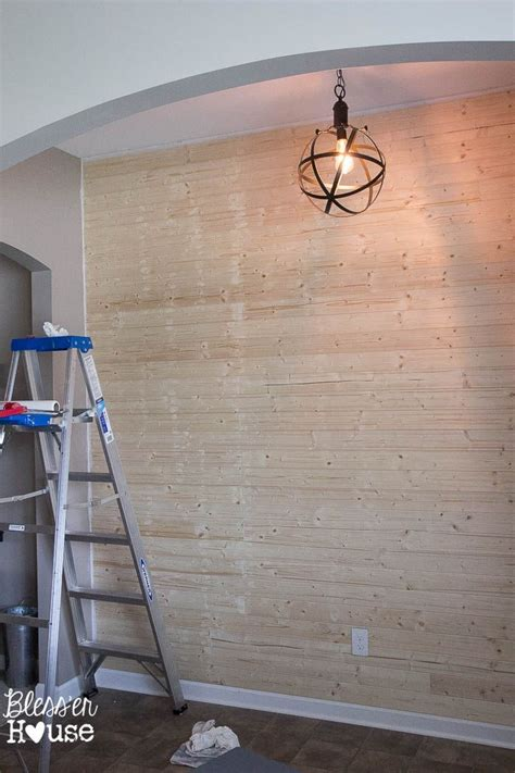 How To Make Shiplap by Diy Faux Shiplap Wall My Home Ship Walls Faux