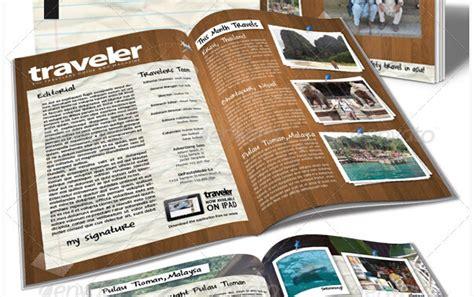 10 Creative Travel Magazine Templates For Tourism