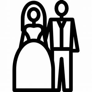 Newly Married Couple - Free people icons