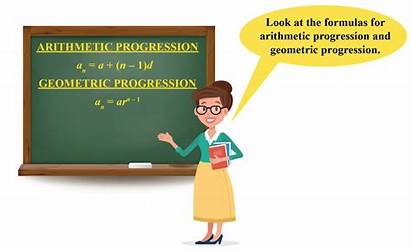 Arithmetic Geometric Sum Terms Progression Gp Nth
