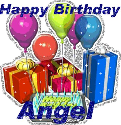 Learn English With Songs And Sms Happy Birthday Angel ( ‿